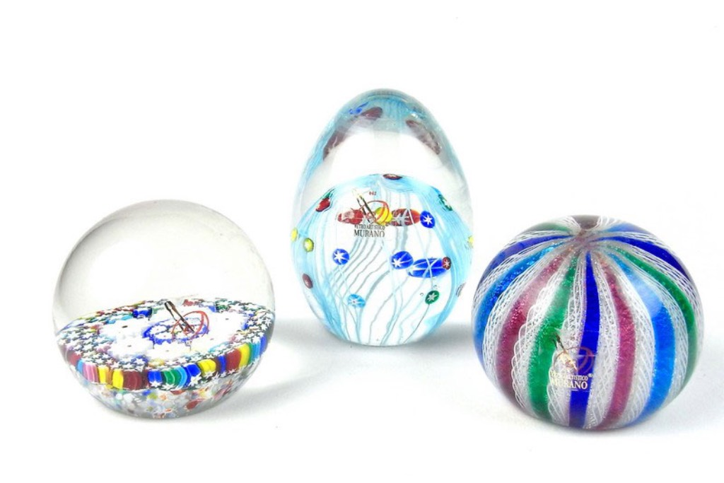 Glass Paperweights -  Image 1